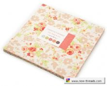 "Chestnut Street - Layer Cake by Fig Tree for Moda Fabrics - 42 x 10"" Fabric Squares"